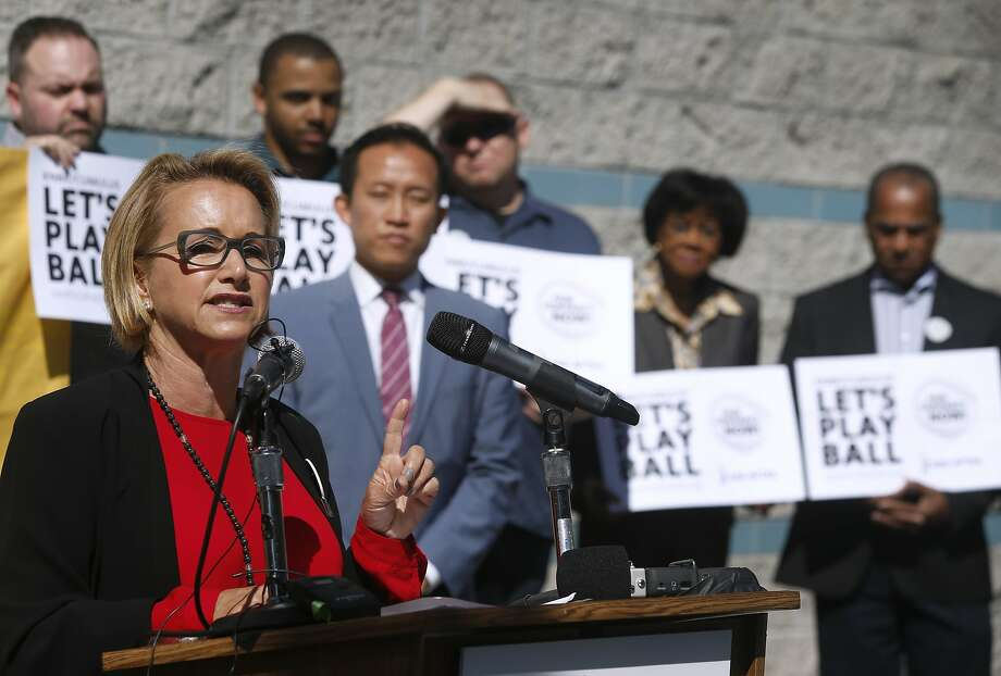Actress Gabrielle Carteris lobbied for a bill to strip actors' ages from websites used in casting. Photo: Paul Chinn, The Chronicle