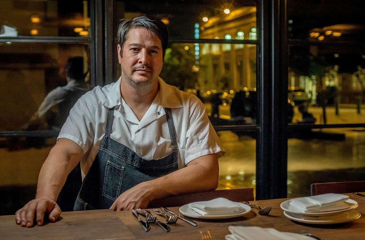Chef Jason Fox of Oro in San Francisco, Calif. is seen on Thursday, November 5th, 2015.