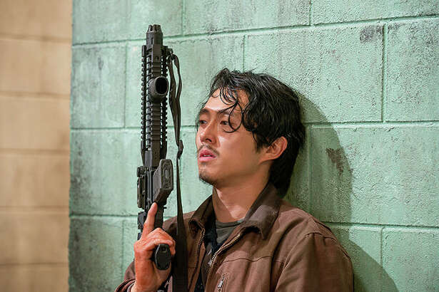 Steven Yeun, The Walking Dead | Photo Credits: Gene Page/AMC