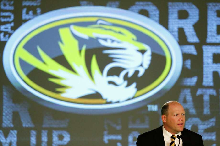 Missouri coach Barry Odom speaks to the media at the Southeastern Conference NCAA college football media days, Wednesday, July 13, 2016, in Hoover, Ala. (AP Photo/Brynn Anderson) Photo: Brynn Anderson, Associated Press / AP