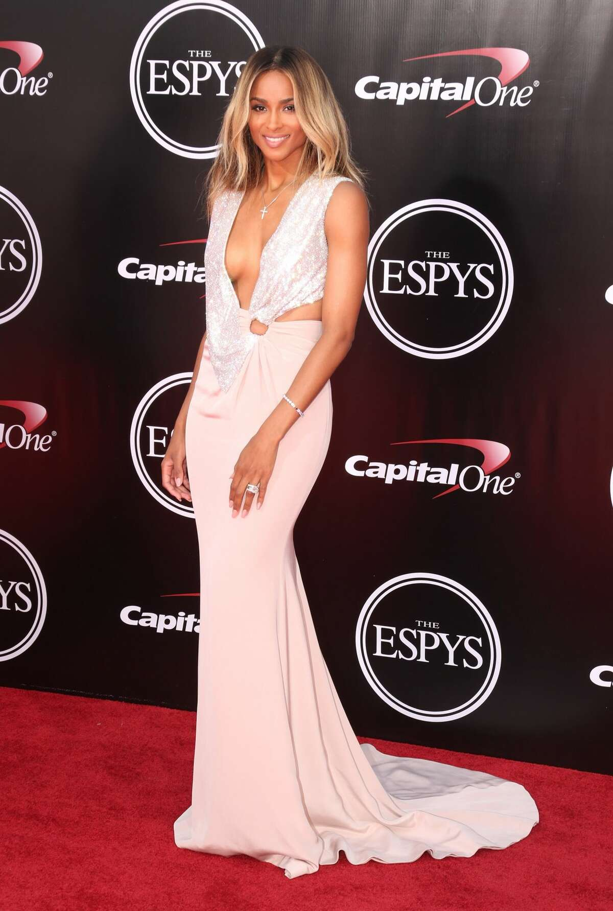 Best: Ciara has become a master of the red carpet.