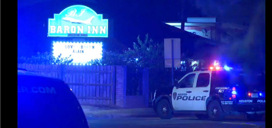 A tense SWAT standoff ended about 5 a.m. Thursday, July 14, 2016,  when a man surrendered to police after he fired gunshots at officers while he held them at bay for hours at a motel at 4823 W. 34th Street in northwest Houston. (Metro Video)