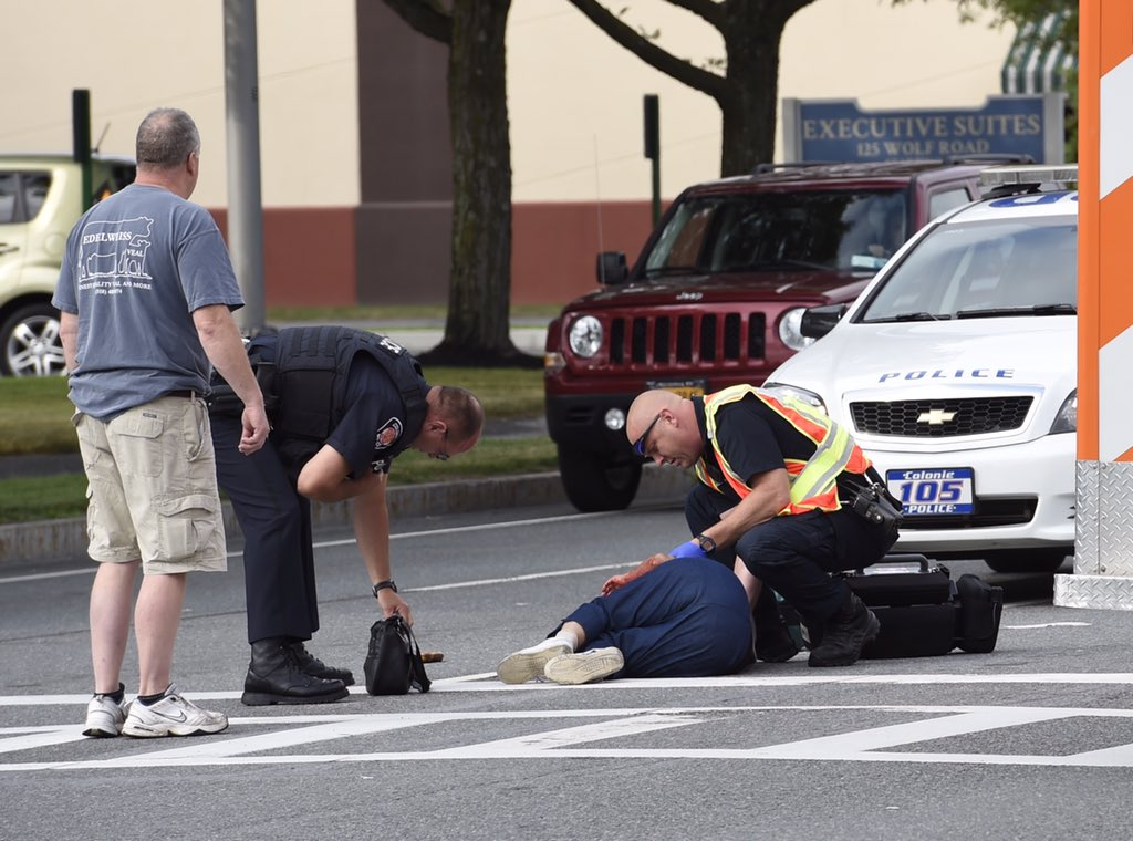 Hit By Car In Ballston Spa