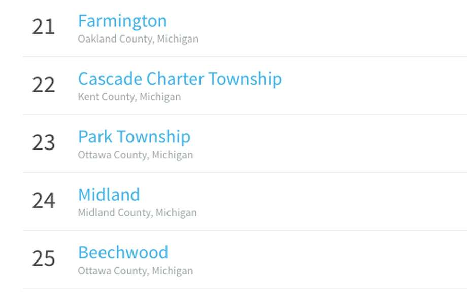 Midland is one of the top 25 places to live in Michigan, according to consumer website Niche.
