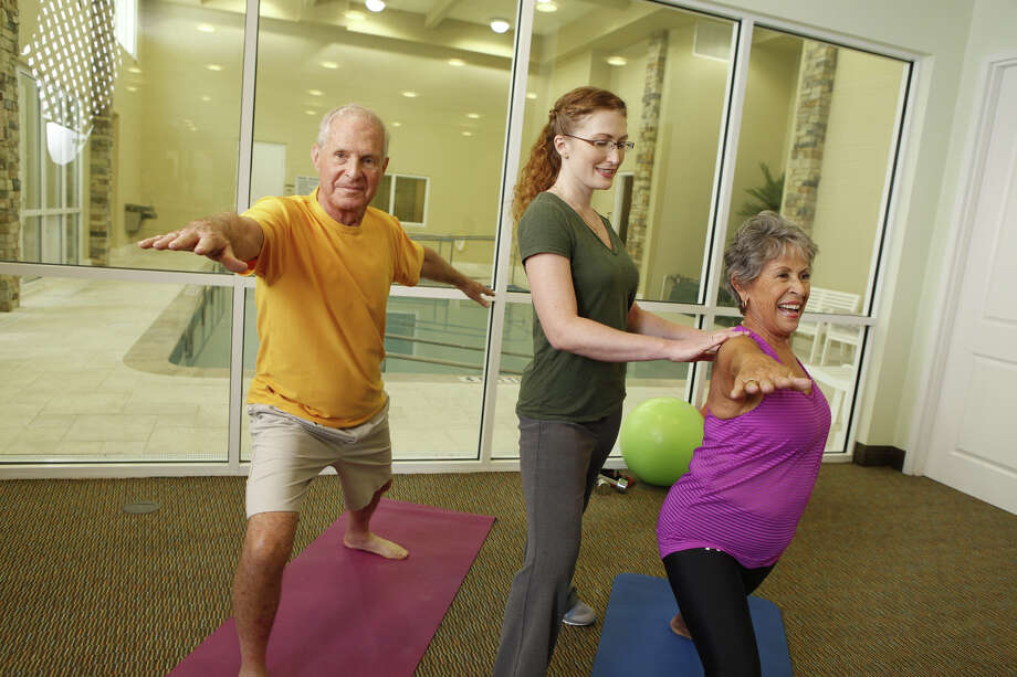 Conservatory Senior Living helps residents focus on maintaining and improving their health.