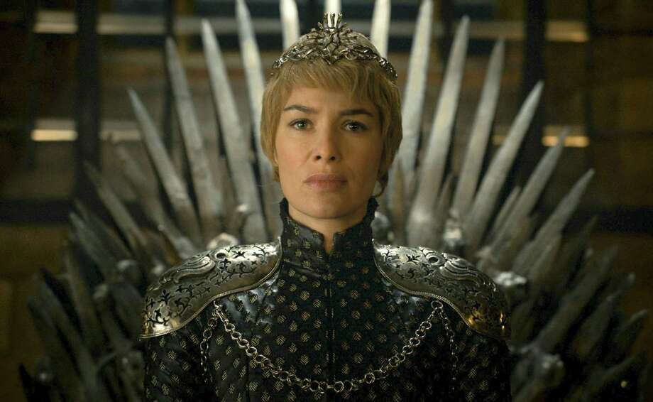"PHOTOS: 2016 EMMY NOMINEESIn this image released by HBO, Lena Headey appears in a scene from ""Game of Thrones.""  ""Game of Thrones"" leads this year's crop of Emmy nominees with 23 total nods.  (HBO via AP) Photo: Associated Press / HBO"