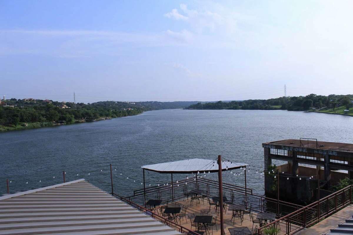 A view of Lake Marble Falls from the patio of River City Grille in Marble Falls.