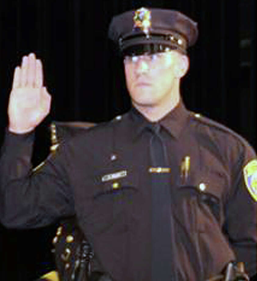 Officer Anthony Renaldi and the town of Fairfield have been sued over the death of a teen. Photo: Contributed Photo / Fairfield Citizen