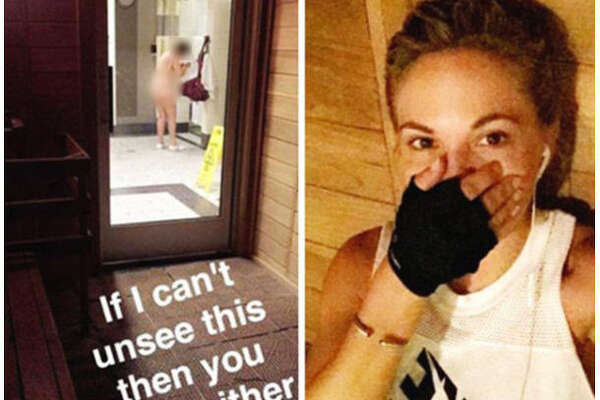 Dani Mathers, the 2015 Playboy Playmate of the Year, posted then quickly deleted this body-shaming Instagram photos of a woman changing at her gym. The internet was not happy with her.