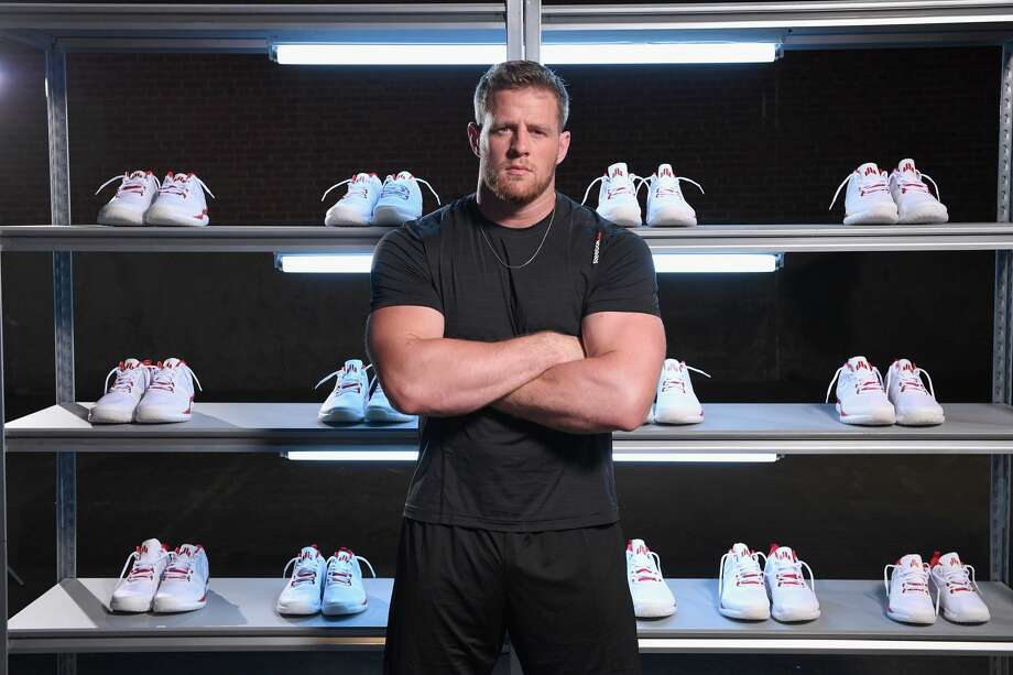 PHOTOS: A look at the new version of J.J. Watt's signature Reebok sneakerA new version of J.J. Watt's signature Reebok sneaker will be released at midnight Wednesday night.Browse through the photos above to take a peek at what the sneakers look like as well as previous versions of the J.J. Watt shoe. Photo: Bryan Bedder/Getty Images For Reebok