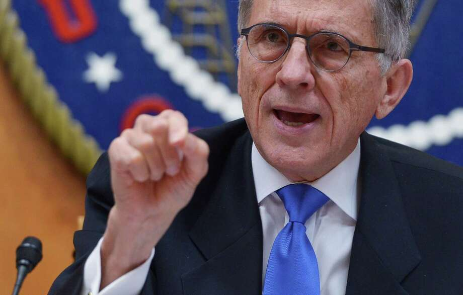 """""""We're turning loose the incredible innovators of this country,"""" Federal Communications Commission Chairman Tom Wheeler said just before the commissioners voted unanimously to open little used airwaves in what could be the largest and most lucrative expansion of the internet yet. Photo: AFP /Getty Images /File Photo / AFP or licensors"""