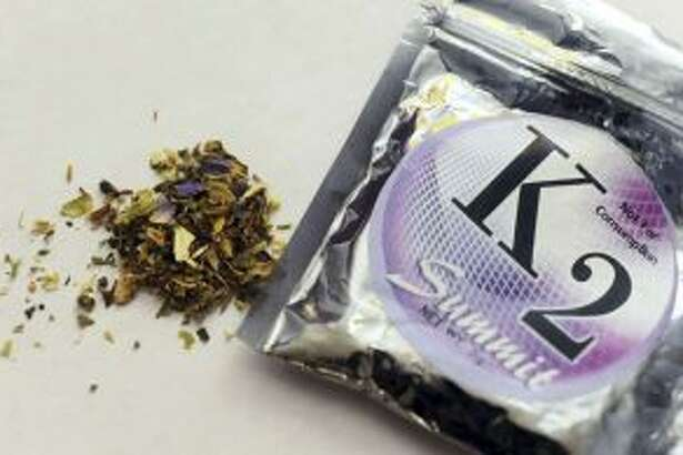 This 2010 file photo shows a package of K2 (AP Photo/Kelley McCall, File)