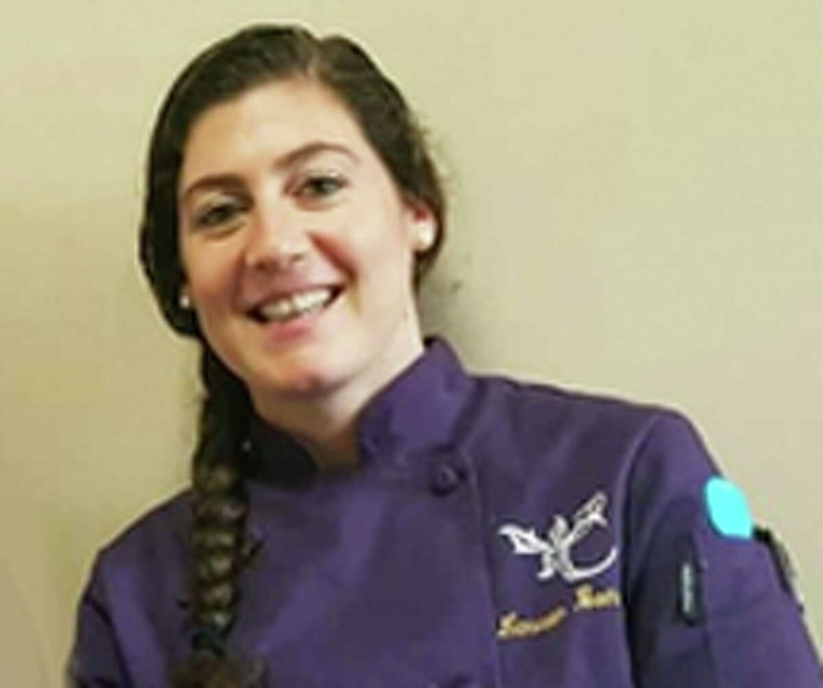 Lauren Bonelli, chef and owner, LB Private Fine Dining, uses up vegetable scraps, stale bread and cheese rinds.