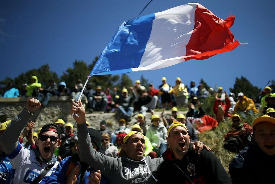 On Bastille Day, France's independence day, the fans were especially amped up. Photo: Chris Graythen, Getty Images