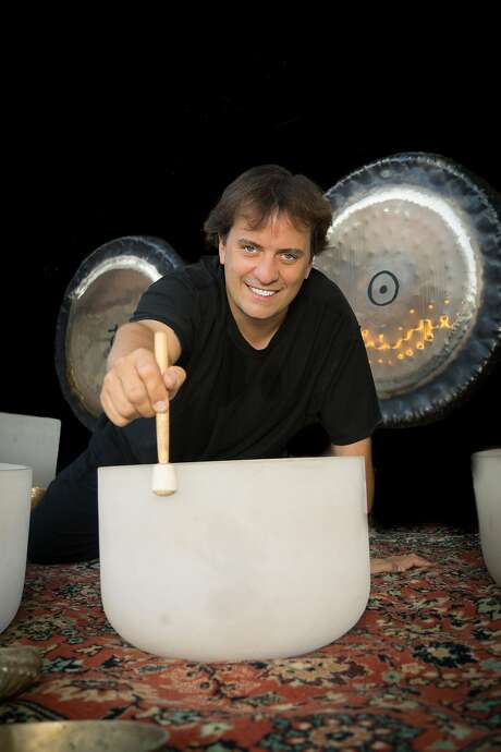 Sound Meditation San Francisco hosts, led by San Francisco organizer Simona Asinovski and Los Angeles sound healer Guy Douglas (pictured), bring large-scale sound baths to sacred and uplifting spaces around the city. Photo: Courtesy�Simona Asinovski