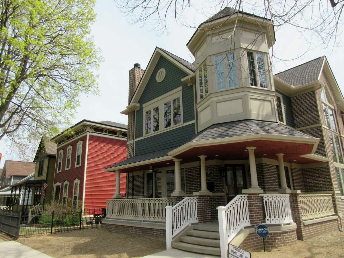 CLEVELAND: HOME PRICES Prices are, predictably, much lower in Ohio. The median home listing price there is$64,900. So perhaps you can buy a primary residence AND a weekend home in Cleveland, while you're at it.