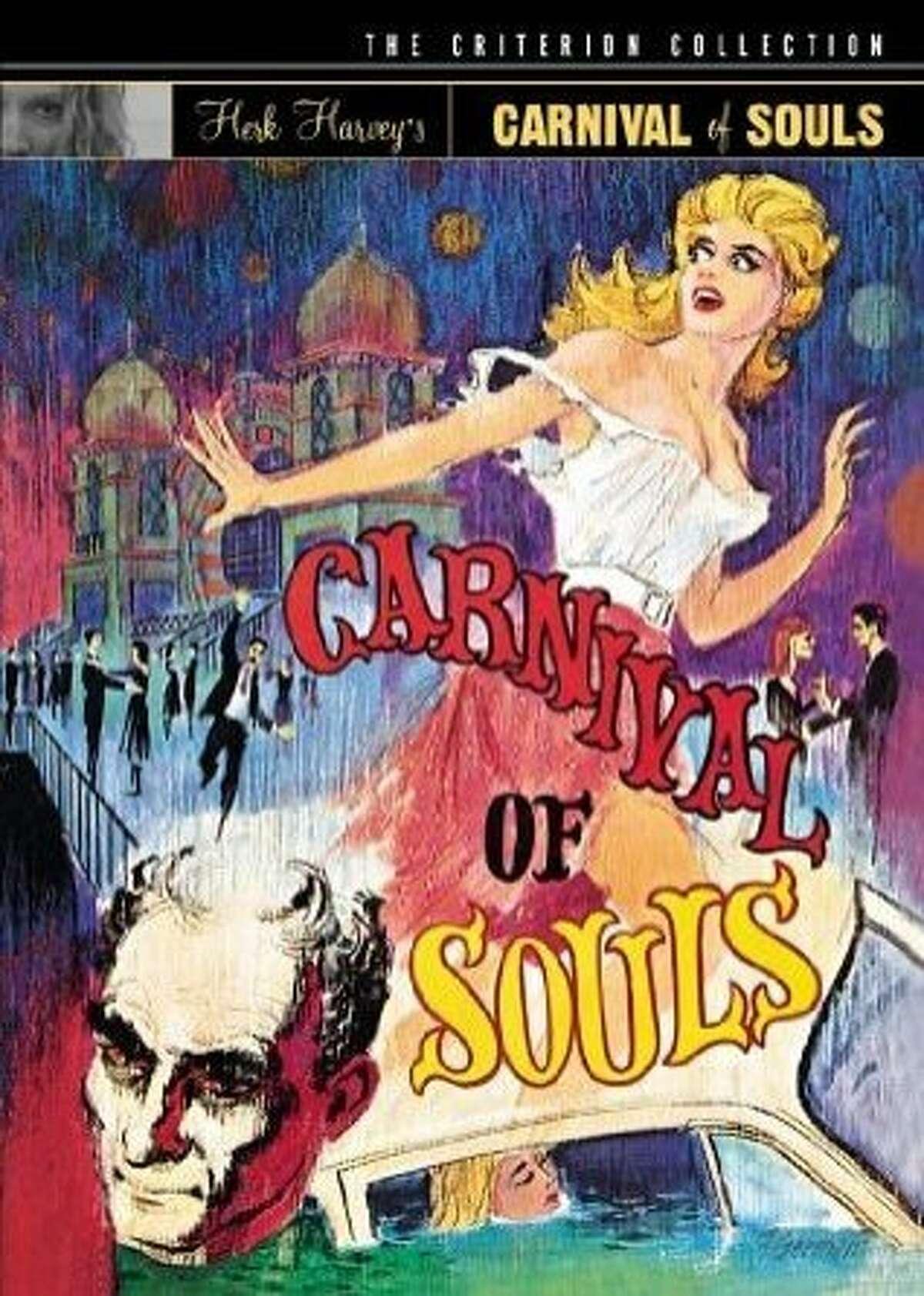 "DVD cover: ""Carnival of Souls"""