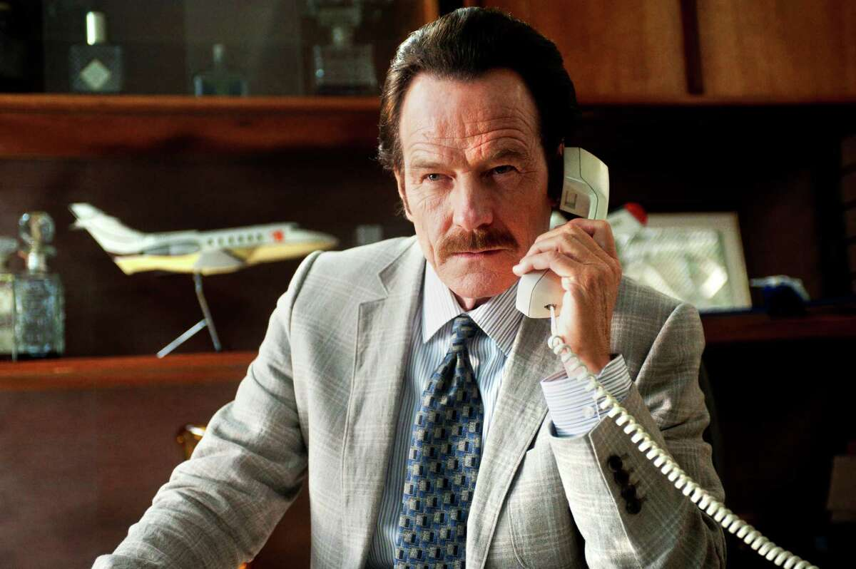 """In this image released by Broad Green Pictures, Bryan Cranston appears in a scene from, """"The Infiltrator."""" (Liam Daniel/Broad Green Pictures via AP)"""