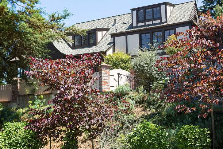 Oakland's 6256 Melville Drive is a four-bedroom trilevel English-style home available for $1.595 million.�