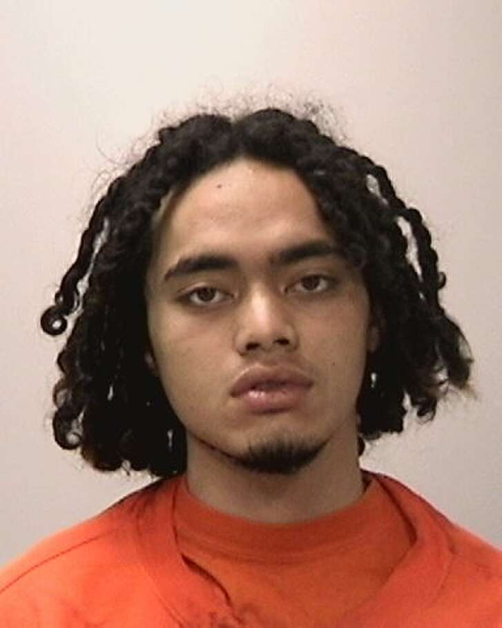 Manu Pomele, 19, was arrested in connection with a string of crimes in Bayview.