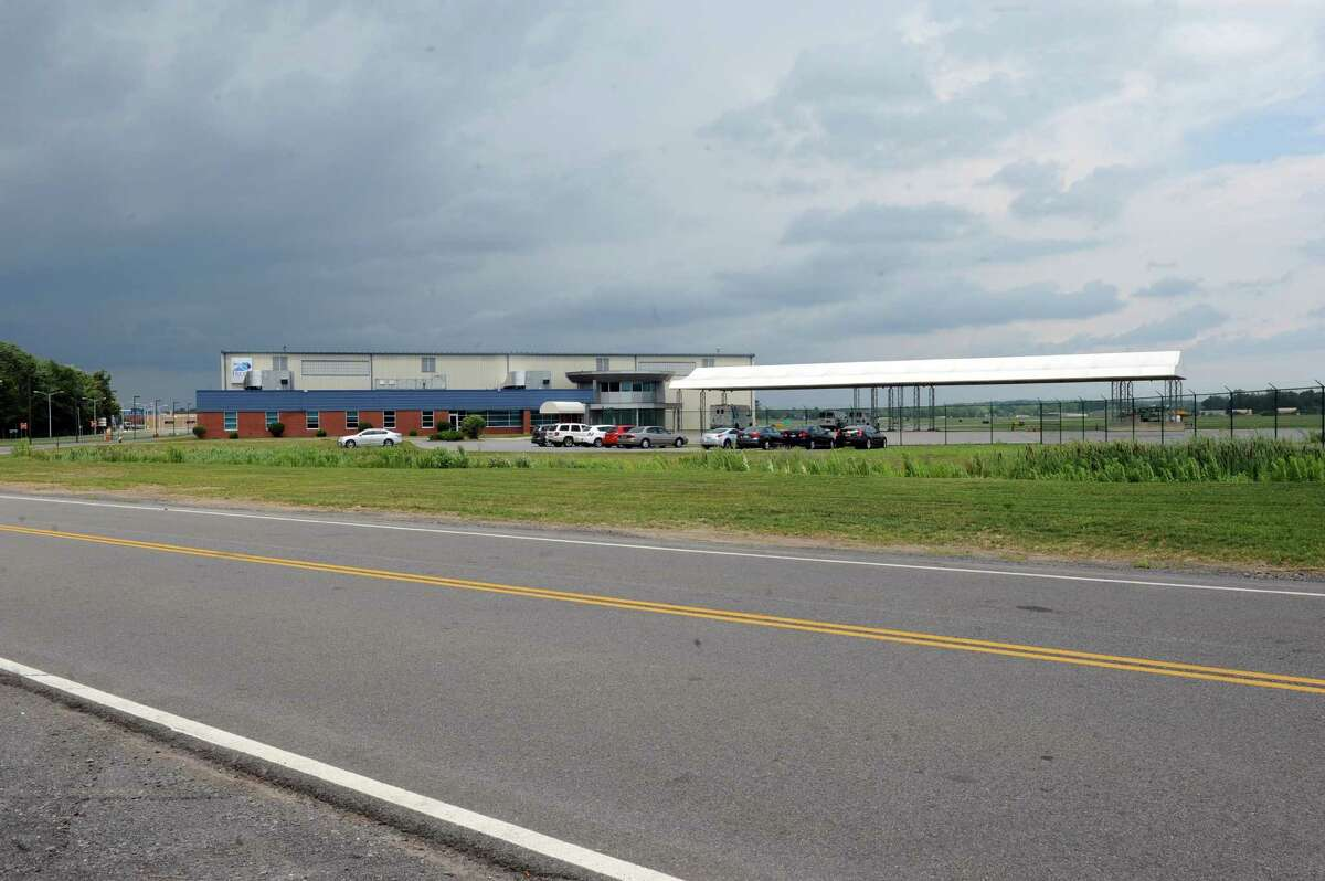 Access road area on east side of Albany International Airport on Thursday July 14, 2016 in Colonie , N.Y. (Michael P. Farrell/Times Union)