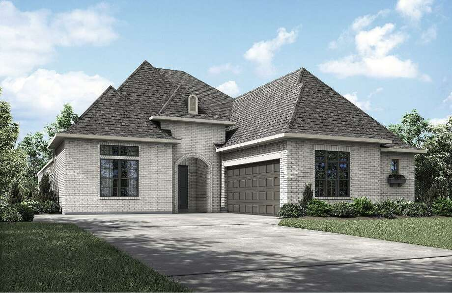 Drees custom homes targets empty nesters in new conroe for Cost to build a house in houston