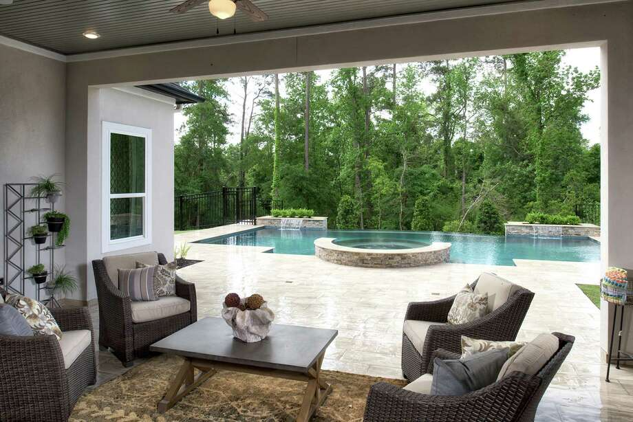 Toll Brothers Offers This Outdoor Living Area At NorthGrove At Spring Creek.  / WWW.