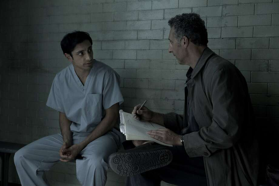 "Riz Ahmed (left) plays Nasir ""Nas"" Khan, who is accused of murdering a woman, but doesn't know whether he did it, and John Turturro plays his lawyer, who is fighting to discover the truth, in ""The Night Of."" A cloud of racism hovers in the background of the story. Photo: Craig Blankenhorn, TNS"