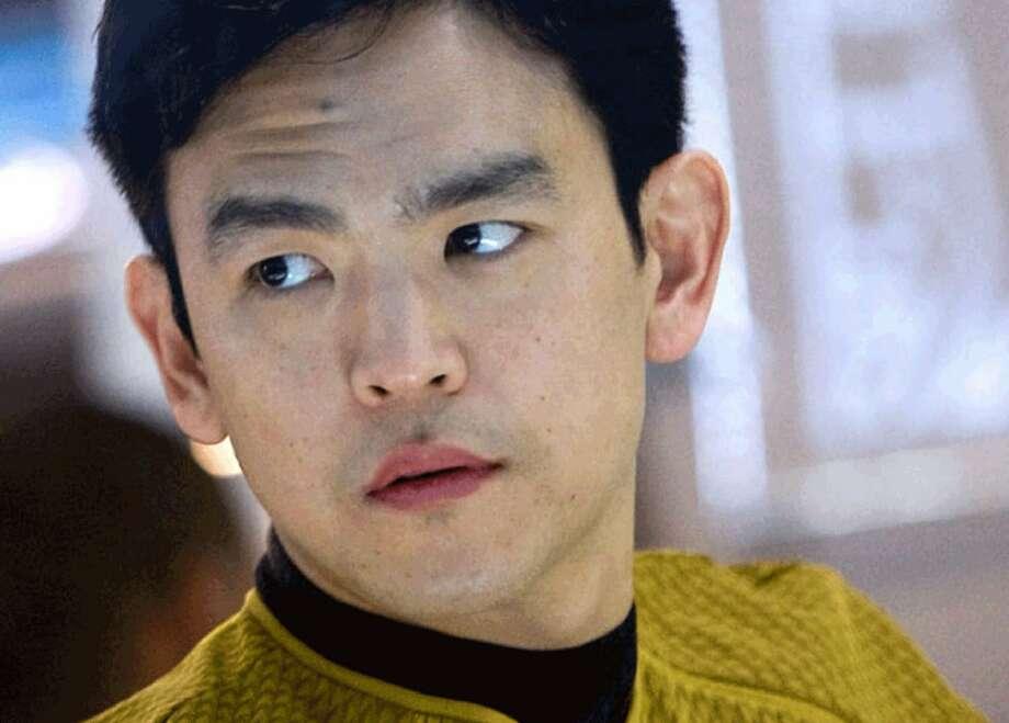 "Hikaru Sulu (John Cho) is gay in the new ""Star Trek"" film. Photo: Paramount Pictures"