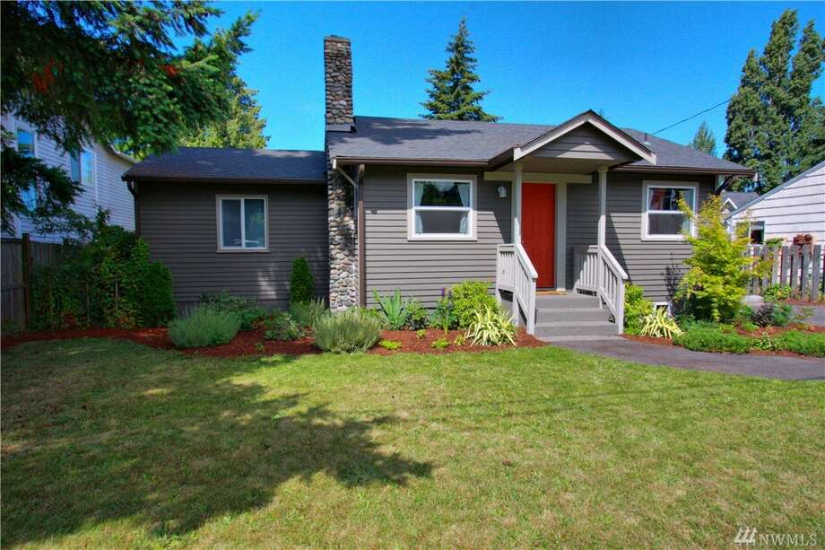 The first home, 9641 25th Ave. S.W., is in the Westwood neighborhood in West Seattle. The two bedroom, one bathroom home is 740 square feet and features an updated kitchen with stainless steel appliances, a wood-burning fireplace and a large basement with extra storage. The home is listed for $325,000. There will be a showing Sunday, July 17 from 1 - 4 p.m. You can see the full listing here. Photo: Vu To, CENTURY 21 Real Estate Center