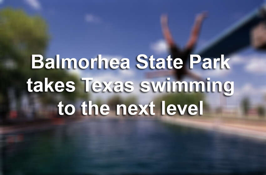 The desert of west Texas isn't the first place you think of when you want to go diving, but Balmorhea State Park offers that rare and totally unique opportunity. Click ahead to see why Balmorhea is Texas' ultimate swimming hole. Source: Texas Parks & Wildlife