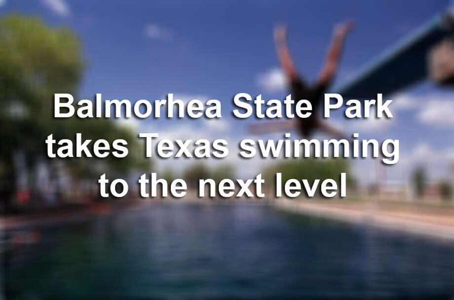 The desert of west Texas isn't the first place you think of when you want to go diving, but Balmorhea State Park offers that rare and totally unique opportunity. Click ahead to see why Balmorhea is Texas' ultimate swimming hole.    Source: Texas Parks & Wildlife Photo: Photo By Bryan Chan/Los Angeles Times Via Getty Images