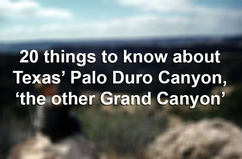 20 things to know about Texas' Palo Duro Canyon, 'the other