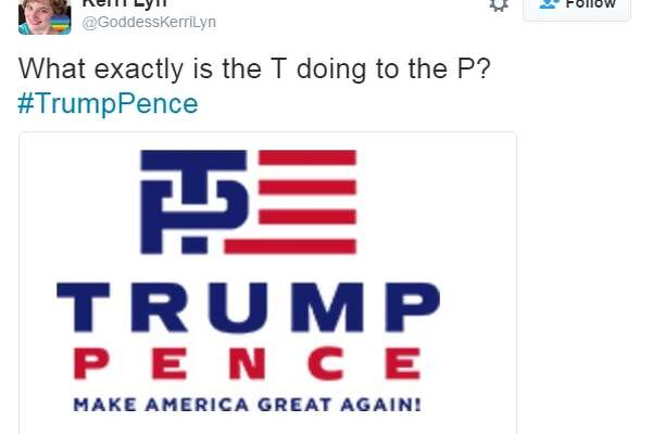 Twitter goes in on Donald Trump's new logo