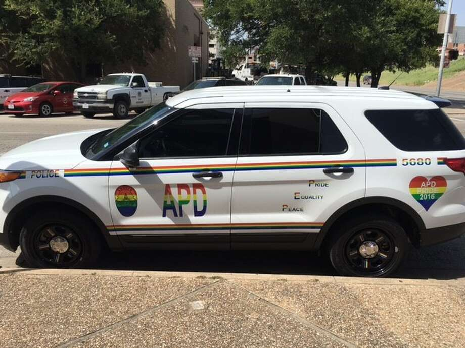 The Austin Police Department unveiled this Pride-themed vehicle as a means of showing support for the LGBTQ community.