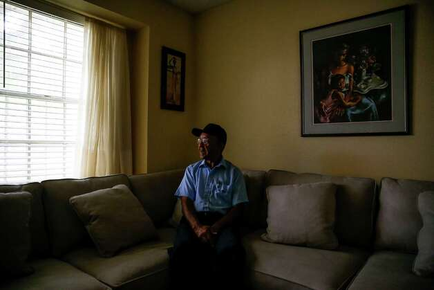 James Giddens lost his brother, Rickey Giddens, in an explosion at the PeroxyChem plant in Pasadena in January. Photo: Michael Ciaglo, Houston Chronicle / © 2016  Houston Chronicle