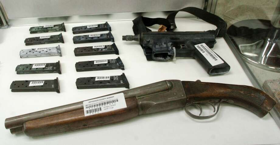 Firearms used int he 1999 Columbine massacre included a sawed off shotgun, which is illegal under a 1934 law.