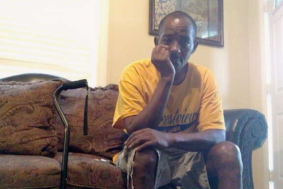 Darren Woods was injured in an explosion at T2 Laboratories in Jacksonville on Dec. 19, 2007.