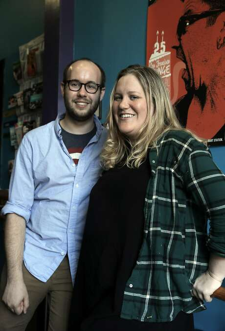 The Breadbox artistic director Ariel Craft and playwright Oren Stevens are mounting an adaptation of The Awakening at the Exit Theater. Photo: Carlos Avila Gonzalez, The Chronicle