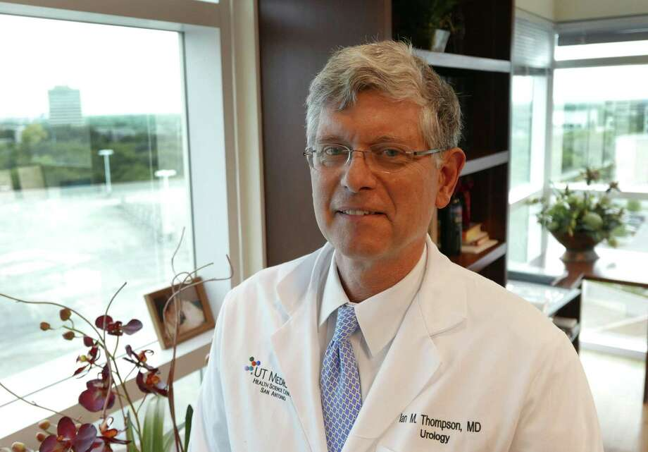 Dr. Ian Thompson Jr. will retire as director of the Cancer Therapy & Research Center at the University of Texas Health Science Center in San Antonio. The internationally known urologic oncologist will begin working for a competitor, Christus Santa Rosa Health System, in January. Photo: Express-News File Photo / San Antonio Express-News