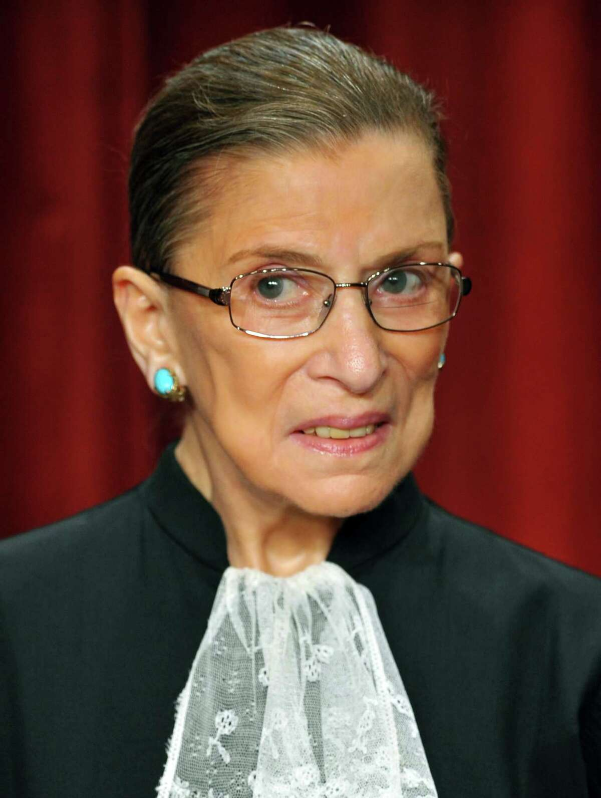 US Supreme Court Justice Ruth Bader Ginsburg: