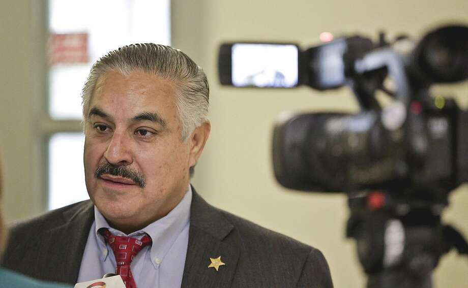Authorities are investigating a fake Instagram account for Sheriff Martin Cuellar that claims to be him and is asking for people's personal information. Photo: Victor Strife