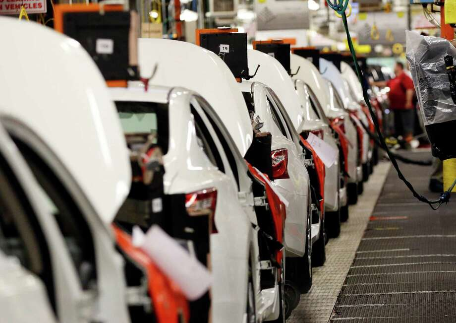 Industrial production shot up 0.6 percent in June thanks to a big rebound in auto output. Photo: Rogelio V. Solis, STF / Copyright 2016 The Associated Press. All rights reserved. This material may not be published, broadcast, rewritten or redistribu