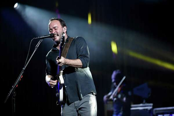 Dave Mathews takes center stage with the Dave Matthews Band performs on Friday, July 15, 2016, at Saratoga Performing Arts Center in Saratoga Springs, N.Y. (Cindy Schultz / Times Union)