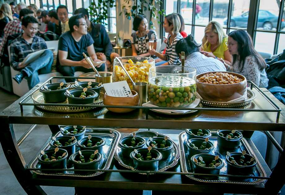 The pintxos cart at Bellota in S.F. Photo: John Storey, Special To The Chronicle