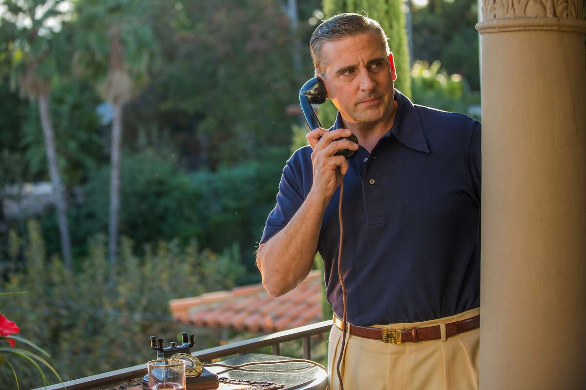 """Steve Carell appears in a scene from """"Cafe Society."""""""