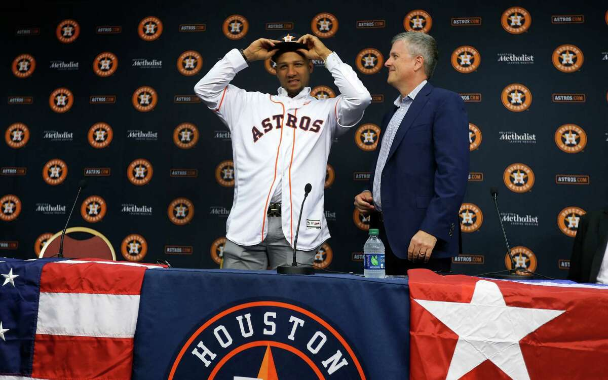 After welcoming Cuban infielder Yulieski Gurriel to the fold, Astros general manager Jeff Luhnow hopes to add his younger brother Lourdes Jr. as well.