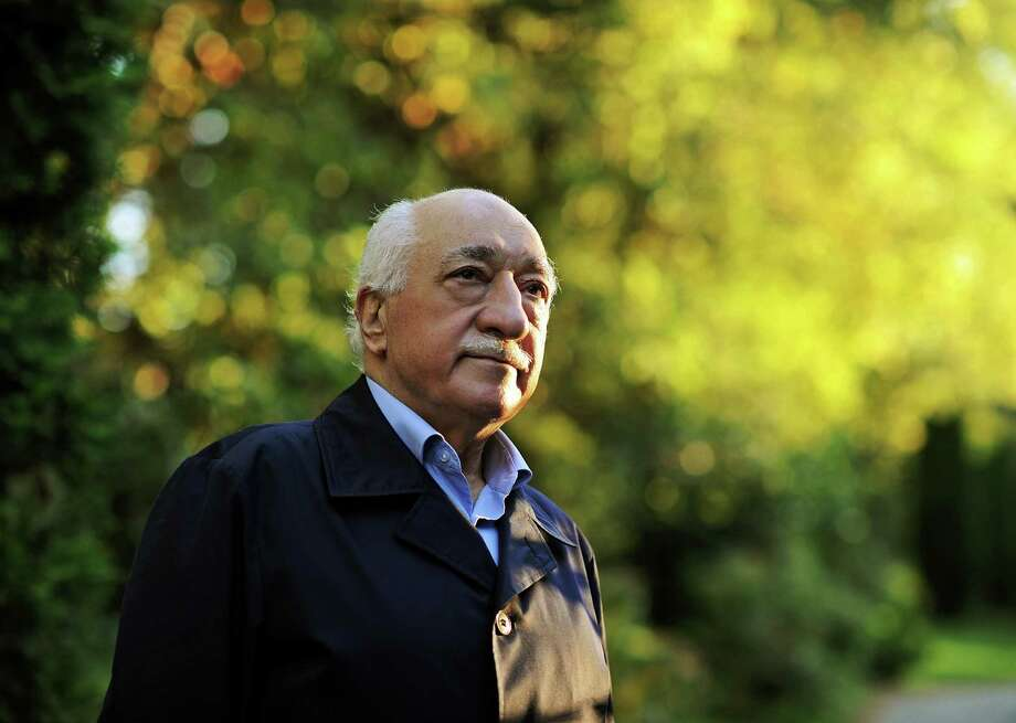 "FILE - In this Sept. 24, 2013 file photo, Turkish Islamic preacher Fethullah Gulen is pictured at his residence in Saylorsburg, Pa. A lawyer for the Turkish government, Robert Amsterdam, said that ""there are indications of direct involvement"" in the Friday, July 15, 2016, coup attempt of Fethullah Gulen, a Muslim cleric who is living in exile in Pennsylvania. He said he and his firm ""have attempted repeatedly to warn the U.S. government of the threat posed"" by Gulen and his movement. (AP Photo/Selahattin Sevi, File) Photo: Selahattin Sevi, SUB / Zaman"