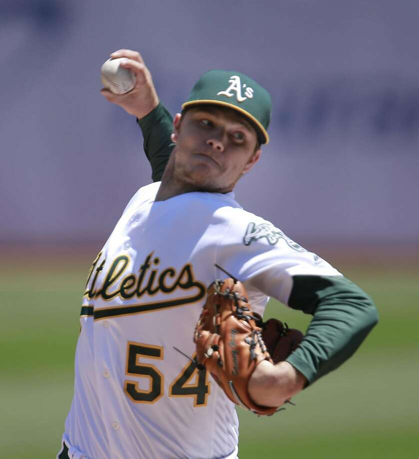 A's starter Sonny Gray gets a Team USA invitation after fighting injuries in 2016. Photo: Michael Macor, The Chronicle