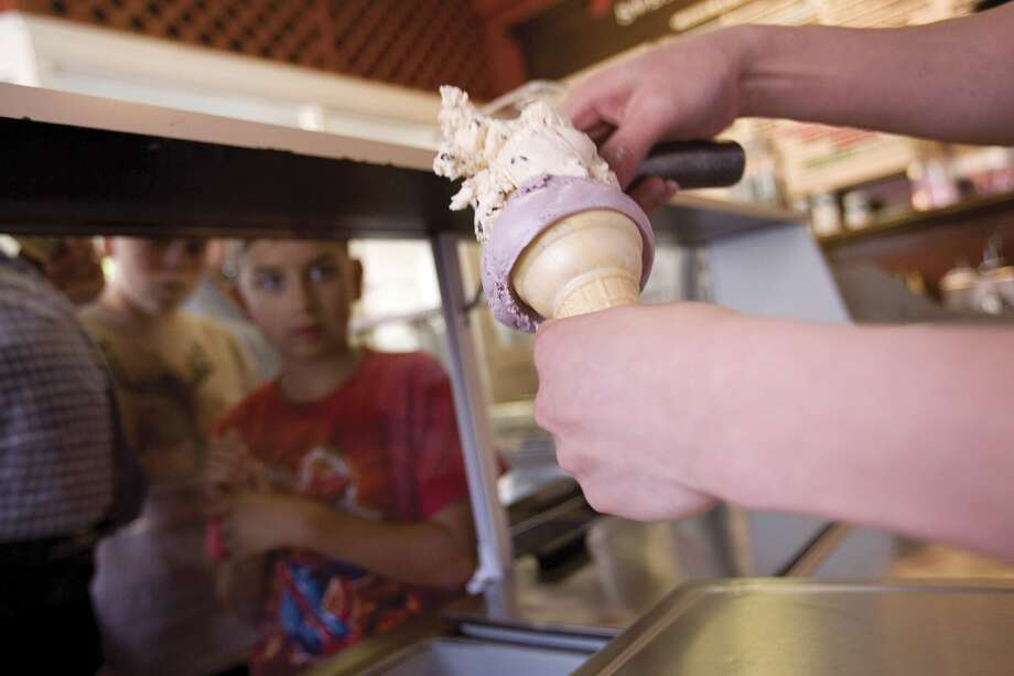 Ice cream is one of those desserts that remain a favorite, no matter what your age. Click through the gallery to see what the customers and staff at local ice cream shops are eating when they're looking for a sweet snack. Photo: David Paul Morris,  Getty Images